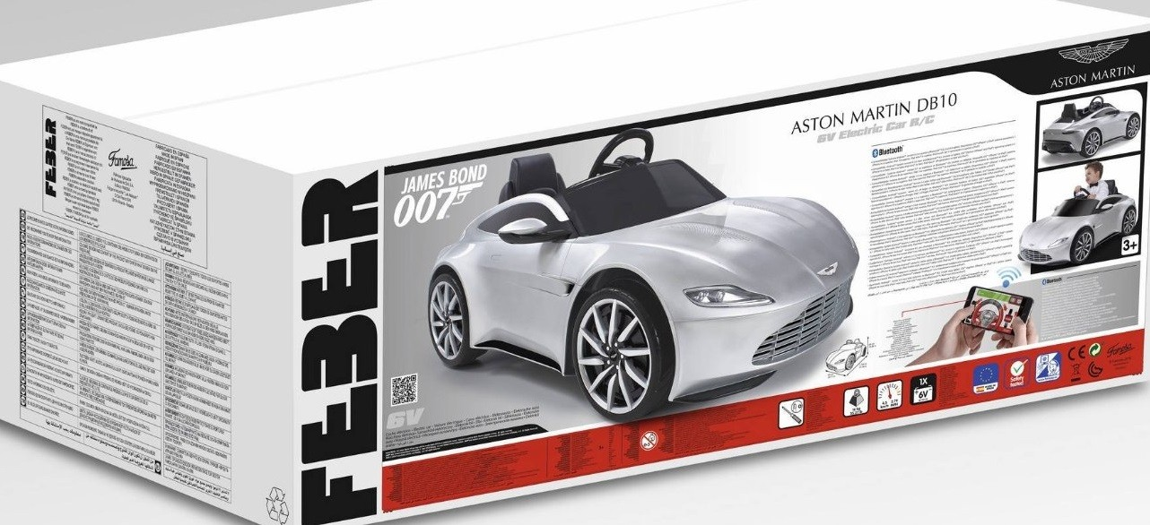 Aston Martin Db10 Toy