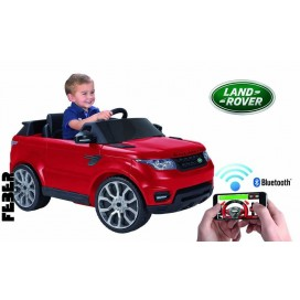 FEBER RANGE ROVER 6V Car with Smartphone Controller - Red