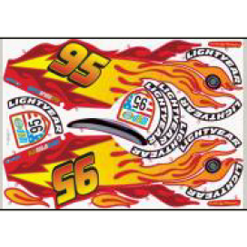Feber Lighting McQueen Sticker set A