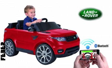 FEBER RANGE ROVER 6V Car with Smartphone Controller - Red